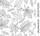 vector seamless pattern with... | Shutterstock .eps vector #1814172263