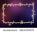 christmas bright golden and... | Shutterstock .eps vector #1814194379