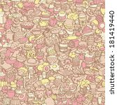 food seamless pattern  repeated ... | Shutterstock .eps vector #181419440