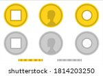 coin china simple isolated icon ...
