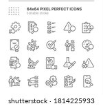 simple set of icons related to... | Shutterstock .eps vector #1814225933