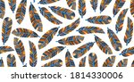 vector seamless pattern with...   Shutterstock .eps vector #1814330006