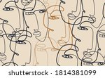 continuous line drawing of... | Shutterstock .eps vector #1814381099