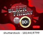 black friday fluid social media ... | Shutterstock .eps vector #1814419799