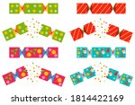 Christmas Cracker Vector Set...