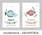 baby shower invitation... | Shutterstock .eps vector #1814497826