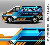 van livery vector design. car... | Shutterstock .eps vector #1814511650