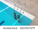 Swimming Pool With Stair In...
