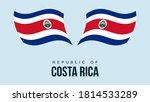 costa rica flag state symbol...