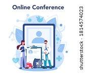 doctor online service or...   Shutterstock .eps vector #1814574023
