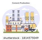 constructin material production ... | Shutterstock .eps vector #1814575049