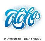 hand lettering vector... | Shutterstock .eps vector #1814578019