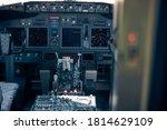 Aircraft Flight Deck Or Pilot...