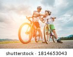 Father And Son Ride  Cycling...