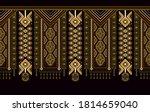 ethnic ornamental vertical ... | Shutterstock .eps vector #1814659040