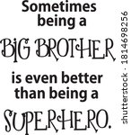 Sometimes Being A Big Brother...