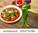 Thai Spicy And Sour Seafood...