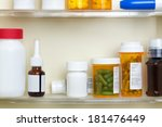 several containers of over the...   Shutterstock . vector #181476449