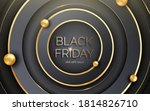 black and gold paper cut... | Shutterstock .eps vector #1814826710