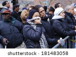 new york city   march 12 2014 ... | Shutterstock . vector #181483058