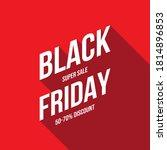 abstract vector black friday... | Shutterstock .eps vector #1814896853