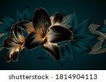 vintage luxury seamless floral... | Shutterstock .eps vector #1814904113