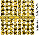 travel and transport | Shutterstock .eps vector #181498430