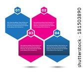info graphic design template.... | Shutterstock .eps vector #181503890