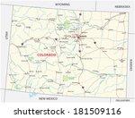 Colorado National Park Map