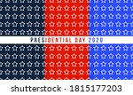 patriotic red  white and blue... | Shutterstock .eps vector #1815177203