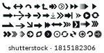 arrows vector collection black. ... | Shutterstock .eps vector #1815182306