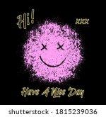 spray effect vector street art...   Shutterstock .eps vector #1815239036
