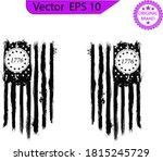 betsy ross 1776 13 stars... | Shutterstock .eps vector #1815245729