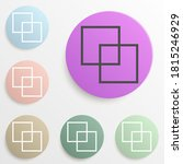 layers of documents badge color ...