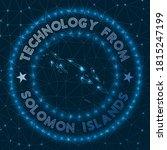 Technology From Solomon Island...