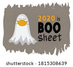funny ghost in medical face...   Shutterstock .eps vector #1815308639