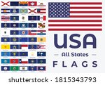 all united states of america...   Shutterstock .eps vector #1815343793