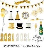 2021 New Years Eve Clipart...