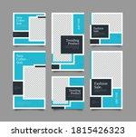 trendy editable template for... | Shutterstock .eps vector #1815426323