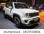 New Jeep Renegede S Car At The...
