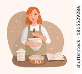 vector hand drawn illustration... | Shutterstock .eps vector #1815529286