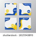 set of sale banner template... | Shutterstock .eps vector #1815543893