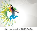 free man   Shutterstock .eps vector #18155476