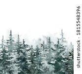 Winter Snowy Forest...