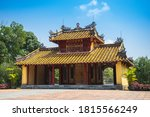 The Minh Mang Royal Tomb In Hu...