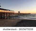 Sunset On San Clemente Pier...