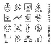 business and finance icons... | Shutterstock .eps vector #1815703133