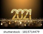 happy new year banner vector... | Shutterstock .eps vector #1815714479