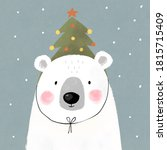 Merry Christmas Bear With...