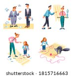 chain anger people relationship ... | Shutterstock .eps vector #1815716663